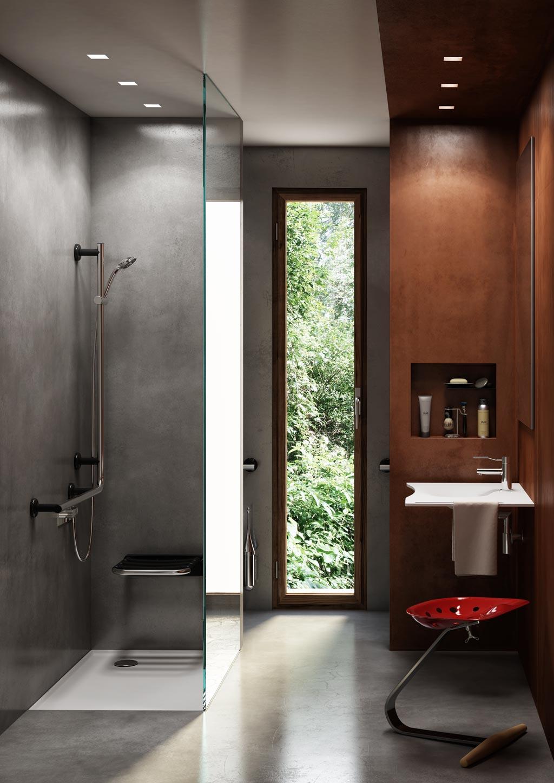 Design contemporary radical bath