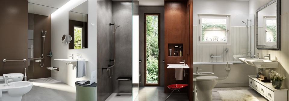Goman bathrooms for the disabled and elderly